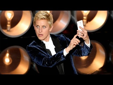 Ellen Degeneres Jokes Jennifer Lawrence Fall in Oscars Opening Monologue Speech 2014