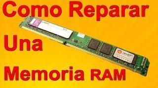 Cómo reparar una memoria RAM