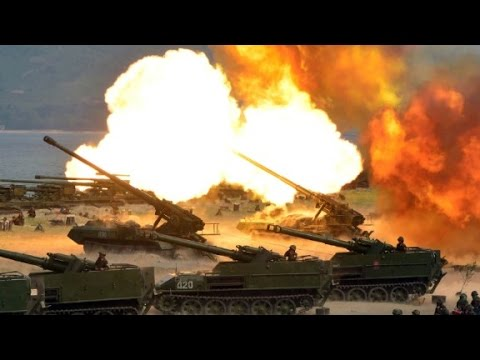 North Korea's chilling video of mock attack on US