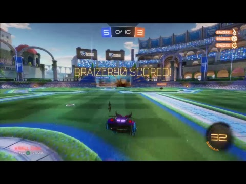 Rocket League - Daft and Salty's MAD SKILLS and FREESTYLES feat*Salty_TM_gaming*