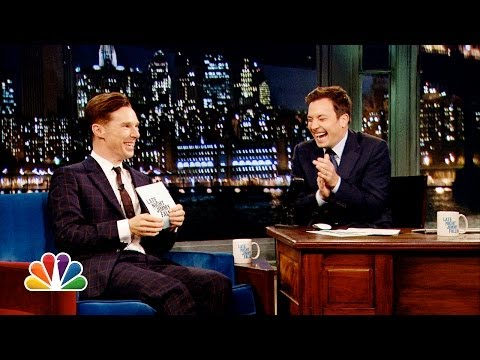 Alan Rickman-off with Benedict Cumberbatch and Jimmy Fallon