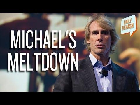 Michael Bay CES Meltdown   DAILY REHASH   Ora TV
