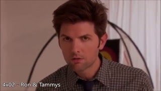 Every single time Ben looks into the camera on Parks & Rec