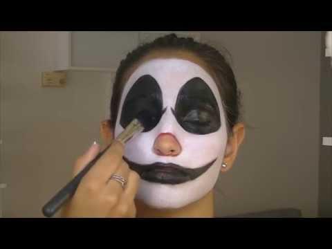 Maquillaje Halloween: Payaso diabólico   por Natalia Carballo