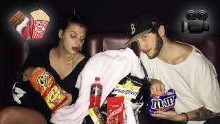 HOW TO SNEAK ANY FOOD INTO THE MOVIES (Life Hack)