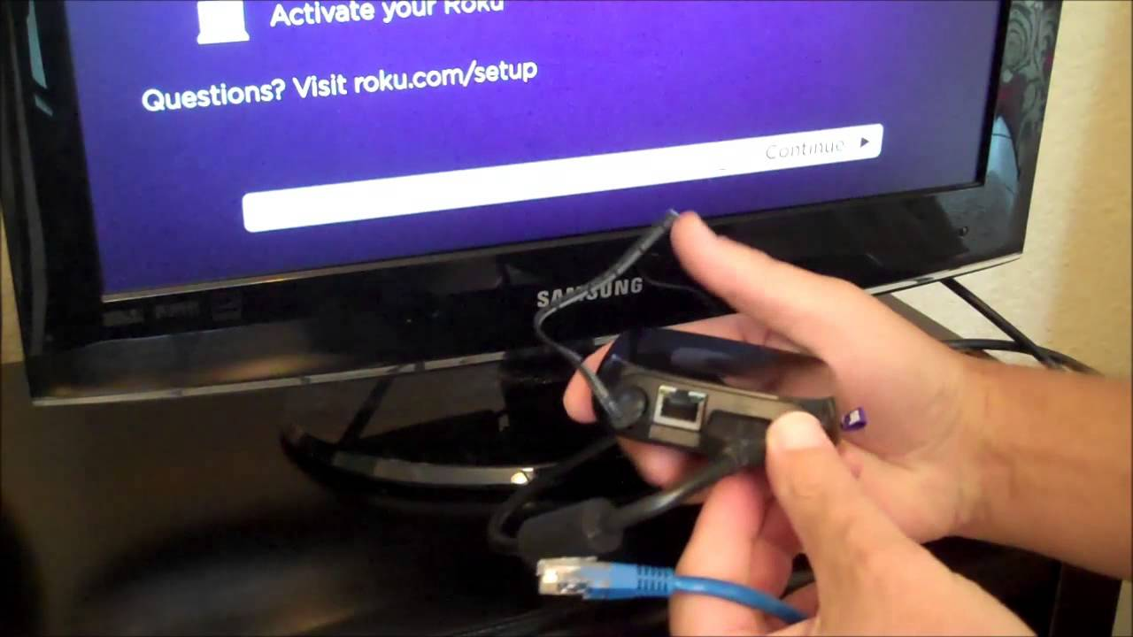 roku hookup instructions