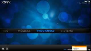 Canais De Tv Com XBMC Media Center