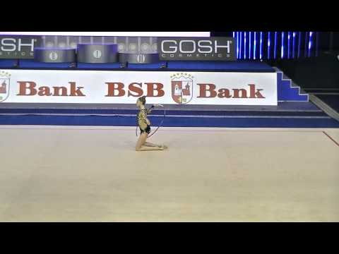 Titova Maria (RUS)  hoop Qual Cup of World 2014 Minsk