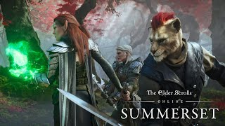 The Elder Scrolls Online - Summerset Cinematic Trailer