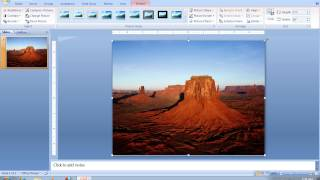 How To Make A PowerPoint 2007 Slide Landscape