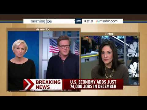 "MSNBC: December Jobs Report Is ""Awful,"" ""Very Bad,"" Ugly"""