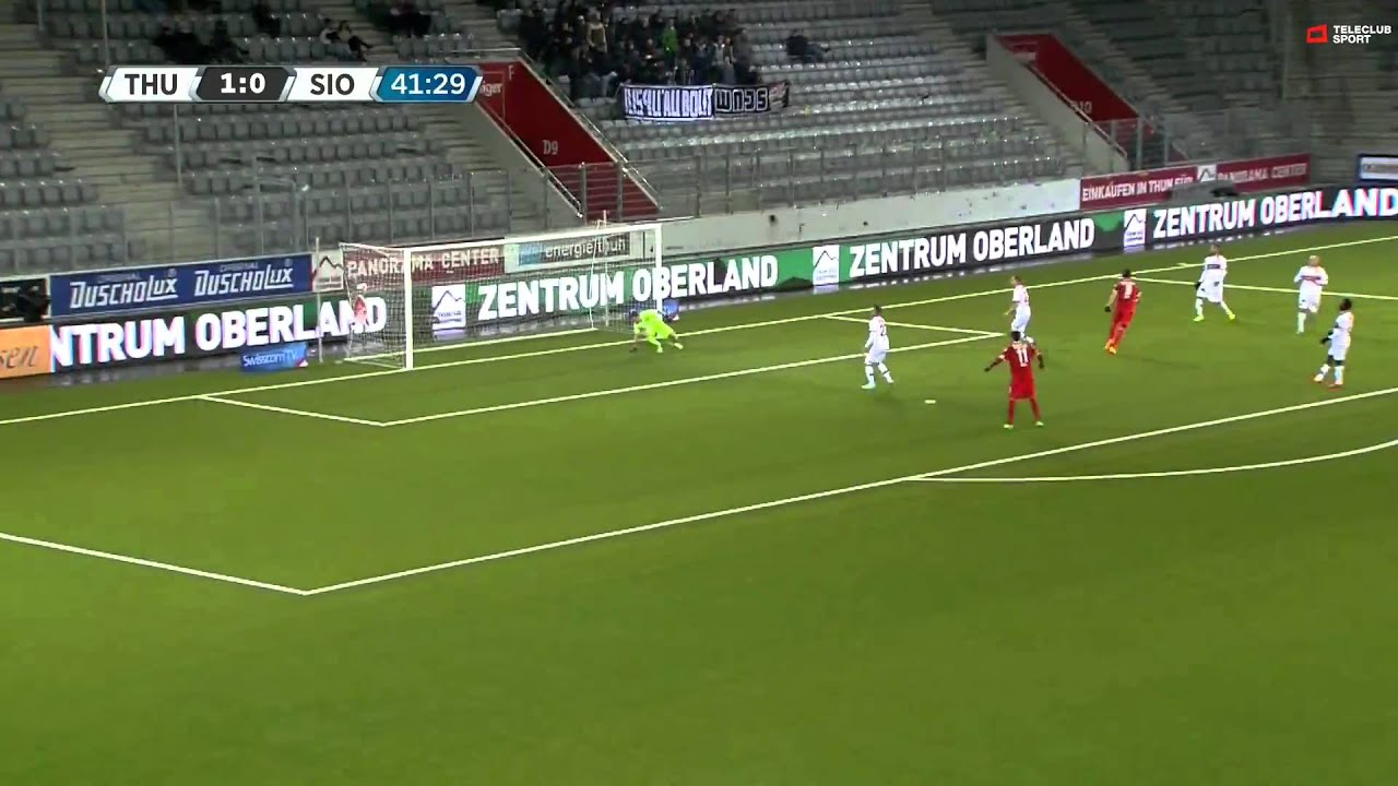 Thun 3-1 FC Sion
