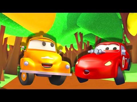 Jerry xe đua - Tom chiếc xe tải kéo