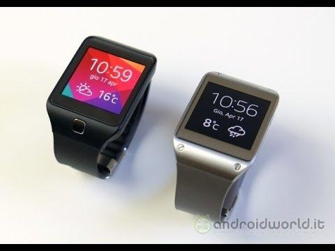 Samsung Galaxy Gear vs Gear 2 Neo, il confronto