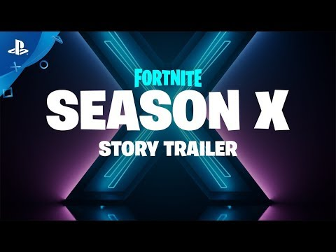 Fortnite | Season X - Story Trailer | PS4