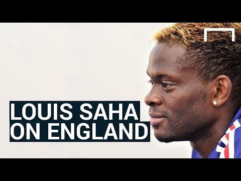 Louis Saha on England