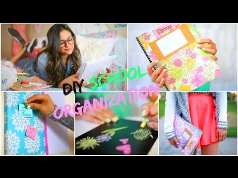 Back to School: DIY Organization! School Supplies & Room decor!