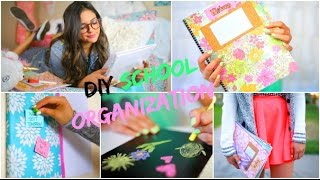Back To School: DIY Organization! School Supplies & Room