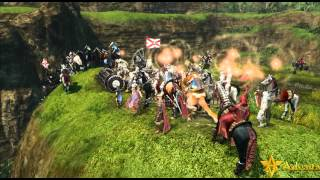 ArcheAge Mass PvP And Gliding
