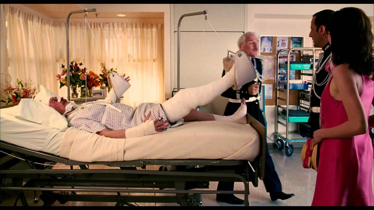pink panther hospital scene from meet