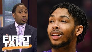 Stephen A. Smith confesses being wrong about Brandon Ingram   First Take   ESPN