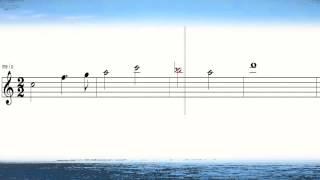 奏でてみようよ218 コバルトの空 楽譜 Cobalt Blue Sky March