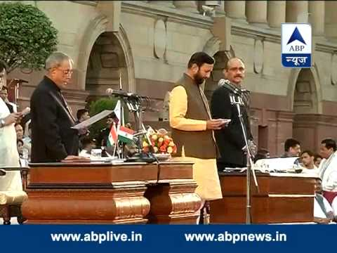 Prakash Javadekar takes oath as a Minister of State