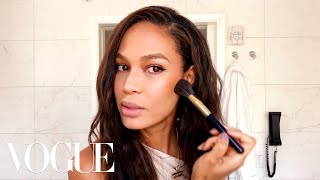 Joan Smalls' Guide to Sculpting—Not Contouring!—Your Skin | Beauty Secrets | Vogue