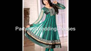 Bridal Anarkali Suits And Wedding Salwar Kameez 2012