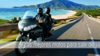 Cuales son las mejores motos para salir de viaje