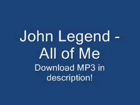 John Legend - All of Me [2013 NEW SONG + LYRICS + MP3 ...