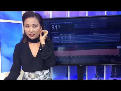 Dự Báo Thời Tiết VTV Hôm Nay và Ngày Mai 20/6/2017 Tại Bắc, Trung ,Nam - BTV Quỳnh Hoa Livestream