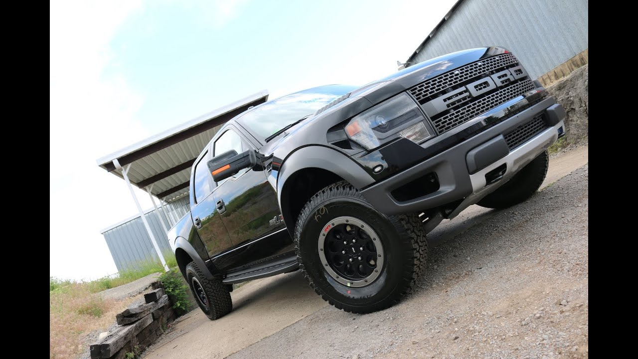 Roush Raptor Special Edition 2014 Black Supercharged - YouTube