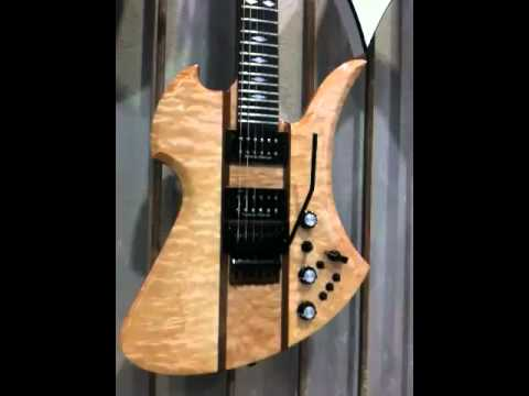 HANDMADE USA WALL ~ BEAT STREET MUSIC NAMM SHOW 2011 BC RICH GUITARS