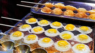 Xi'an (China) Street Food - Quail Egg Skewers