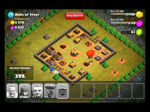Clash of Clans Level 25 - Walls of Steel