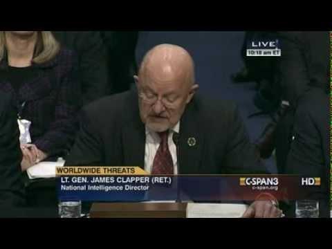 DNI James Clapper Calls NSA Journalists Snowden's