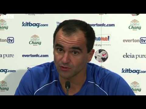 Everton manager Roberto Martinez pleased with new signings