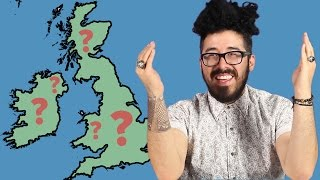 Americans Try To Label The British Isles
