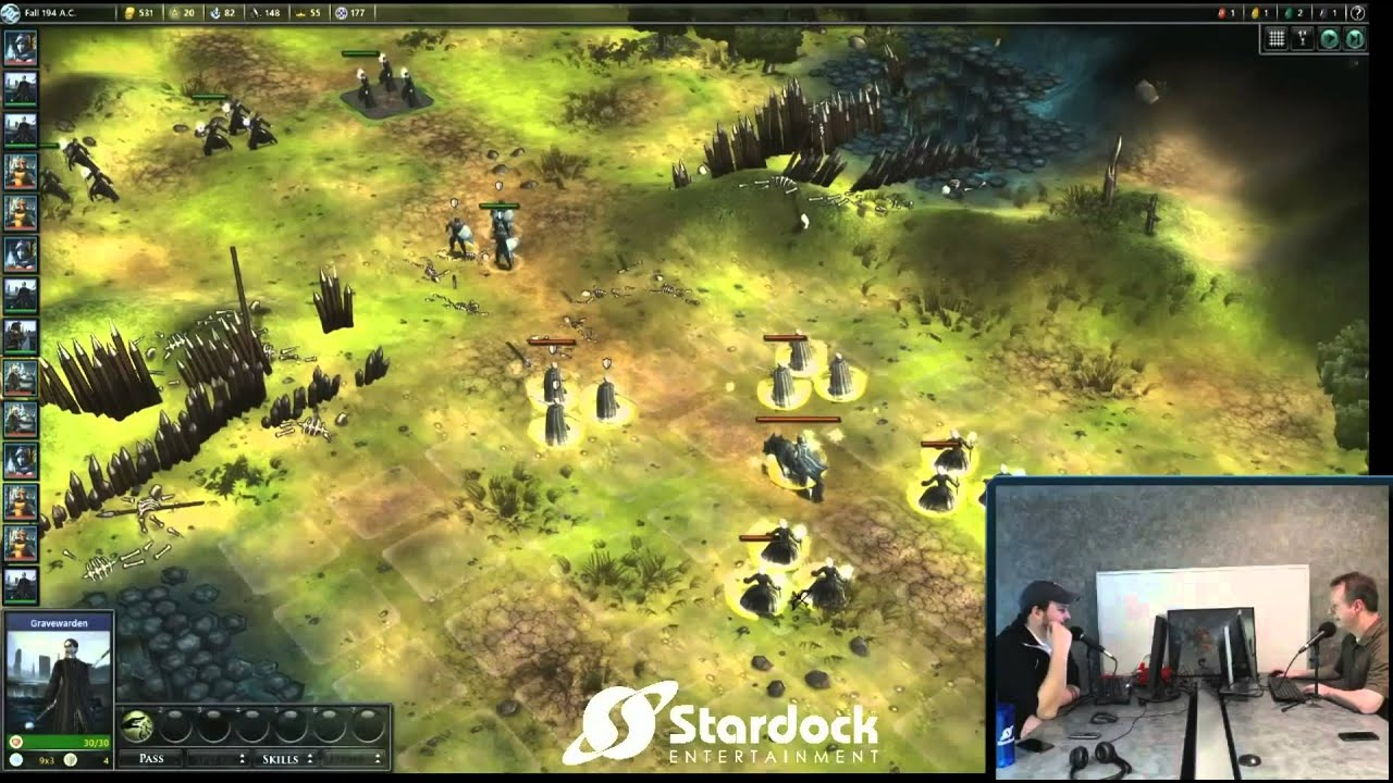 Fallen Enchantress: Legendary Heroes Dev Stream #1 -- Leader Pack DLC