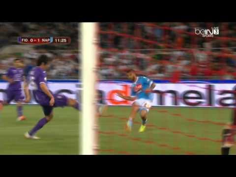 Lorenzo Insigne Double Goals x Fiorentina HD 3/5/2014