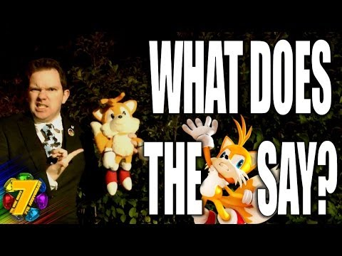 What does the fox say? SONIC PARODY- The Sonic Show