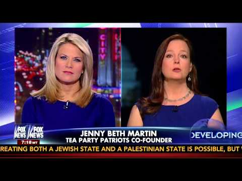 Tea Party Patriots Co-Founder Jenny Beth Martin on FOX News to Discuss the IRS