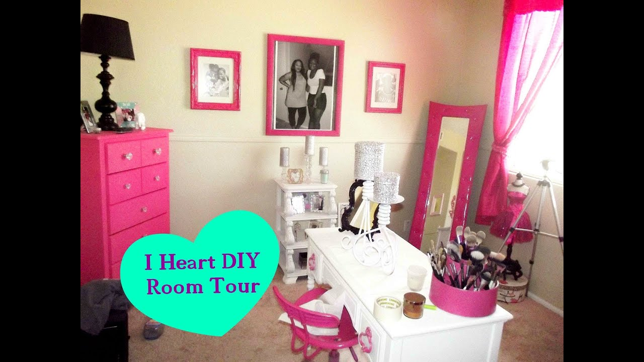 Official DIY Makeup Room Tour & How To - YouTube
