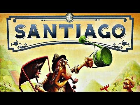 TREFL - GRA PLANSZOWA - SANTIAGO - 01297