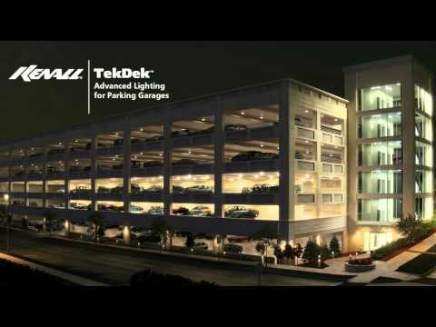 Kenall Lighting: TekDek - Advanced Lighting for Parking Garages
