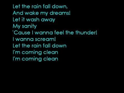 Come Clean - Hilary Duff (LYRICS) - YouTube Hilary Duff Lyrics