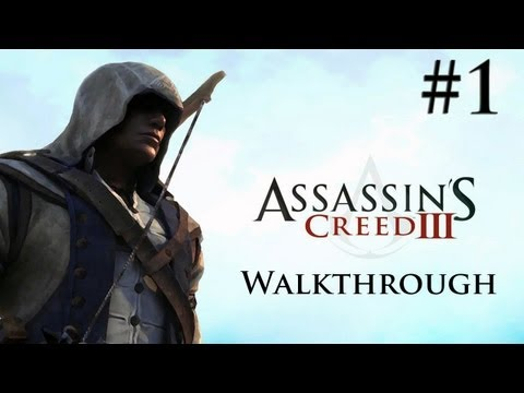Assassin's Creed 3 - Walkthrough/Gameplay - Part 1 [Introduction/Prologue] (XBOX 360/PS3/PC)