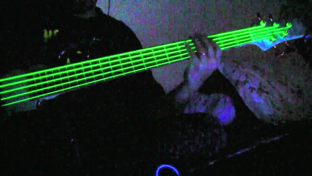 NEON Green Guitar &amp...