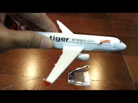 Unboxing Tiger Airways